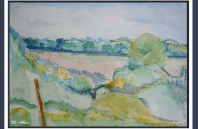 La Loire sous mes pinceaux
