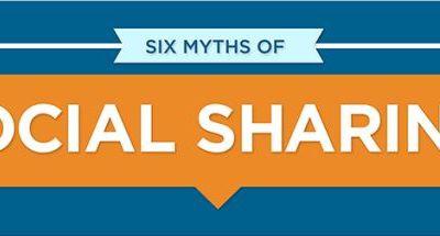 4 idées reçues à propos des partages sur les réseaux sociaux