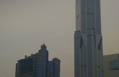 Brume du soir sur Shanghaï