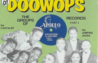 Golden Era of doo wop - Apollo records