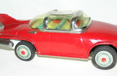 Firebird 2 concept car - japan tin toys