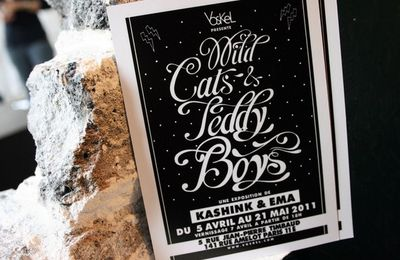 Wild cats & Teddy boys exposition d'art - Kashink et Emma