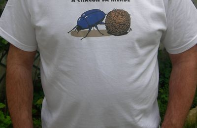 Le T-shirt du bousier