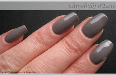 NOTD : Chinchilly - Essie