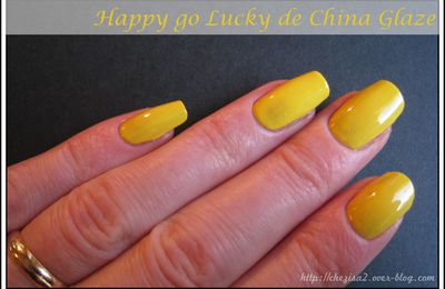 NOTD : Happy Go Lucky - China Glaze