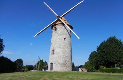 Le moulin de Marpent retrouve ses ailes