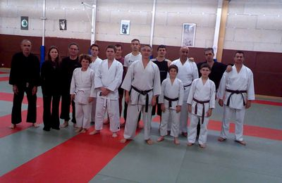 karate do shotokai tournon, adultes ado janvier 2015