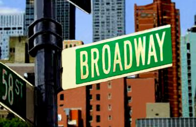 995 . New-York, Broadway de jour.