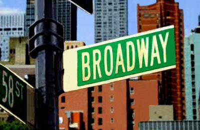 995 . New-York, Broadway de jour.