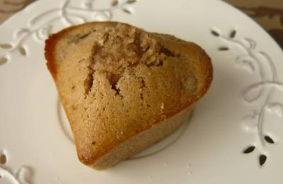 reçette :muffin aux marrons