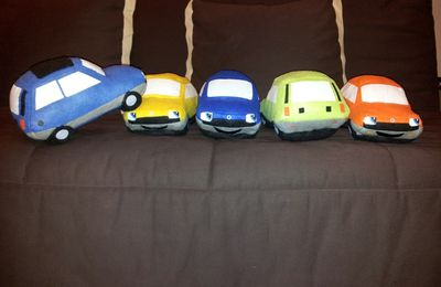 Peluches Renault 5
