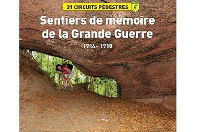 Commander le magazine Passion Vosges, Sentiers de mémoire Grande Guerre,