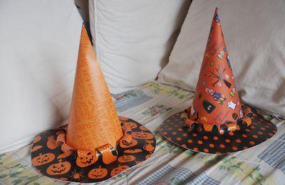 Des chapeaux de sorcières!!!