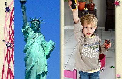 Après la Tour Eiffel, la Statue de la Liberté - Nach dem Eiffelturm, die Freiheitsstatue
