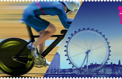 London 2012 Timbres Olympiques