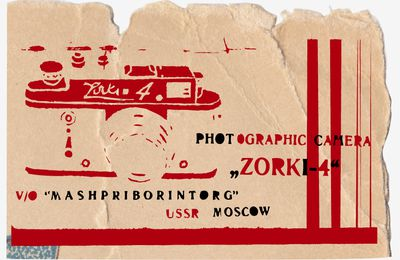 Zorki-4 Made in USSR