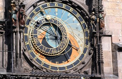 Horloge astonomique de Prague (600 ans)