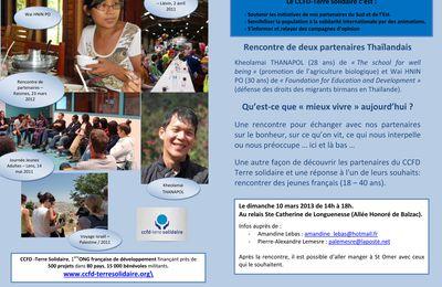 """rencontre CCFD """"Mieux vivre aujourd'hui"""" - 10 mars 2013"""