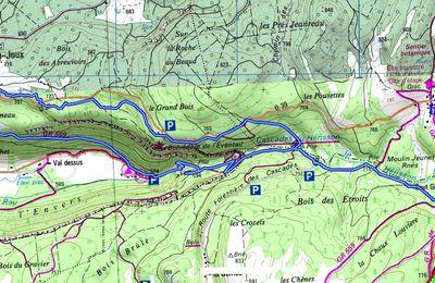 (39) Dans le Jura, en remontant les Cascades du Hérisson.