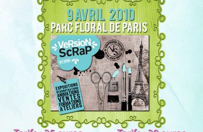 Version scrap avec l'association Scrap'etc...