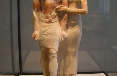 Raherka inspecteur des scribes avec son épouse Merséankh