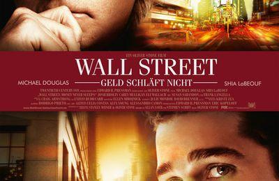 Wall Street 2 : Shia LaBeouf face à Michael Douglas,poster