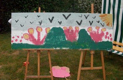 La fête de la peinture à Romilly sur Andelle