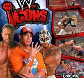 WW ICONS (TOPPS STICKERS 2010)