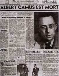 Albert Camus, desde esa visible oscuridad
