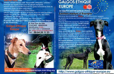 Galgos Ethique Europe, nous aidons les refuges nécessiteux