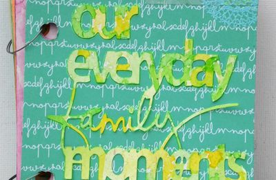 mini album Our everyday family moments