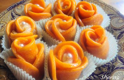 Roses aux parfum d'orange