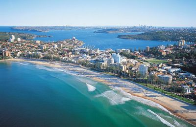Manly Beach en Australie
