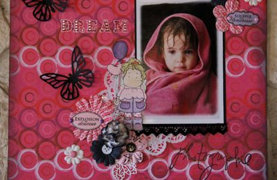 page scrap: Dream & magnolia