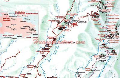 Carte de Wudang