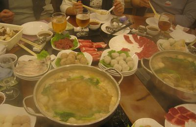 LA fondue chinoise