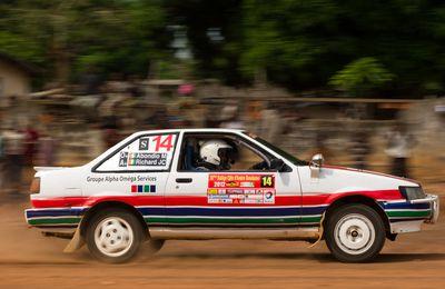 Rallye du Bandama 2012, l'âme des Guerriers !!
