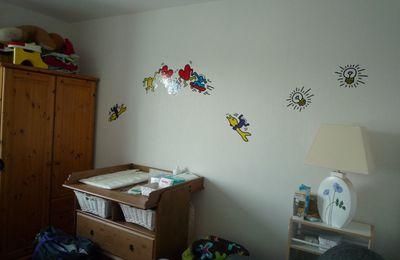 La chambre de bébé Kinder surprise