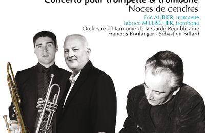 Nouveau CD : Tomasi, par Eric Aubier, trompette, Fabrice Millischer, trombone et l'orchestre d'harmonie de la Garde Républicaine