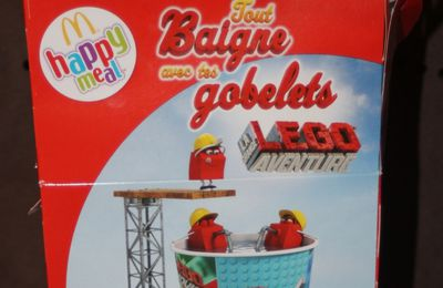 Les gobelets LEGO dans le menu Happy Meal (1)
