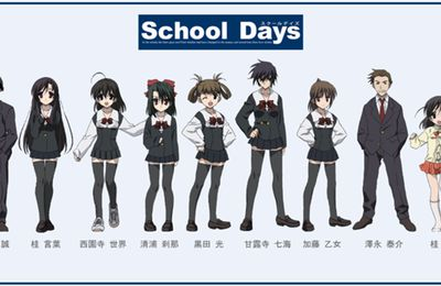 Anime School days