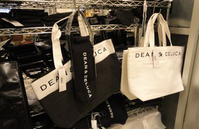 Les sacs shopping rivalisent en design...