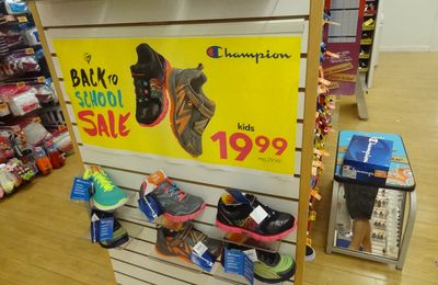 Les Plus de Back to school (11) : Le plus discount : Payless Shoe Source