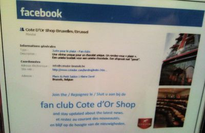 La boutique Côte d'Or a son groupe Facebook (5)