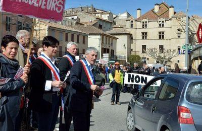 """VAL DE DURANCE Le combat continue :""""Non à la décharge"""" à Château-Arnoux"""