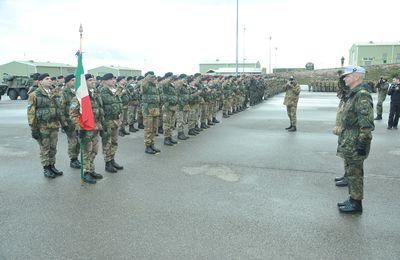 L'OTAN réduit ses troupes