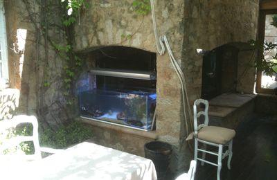 Les Moulins de Ramatuelle ; encore un vivier sur mesure près de Saint Tropez