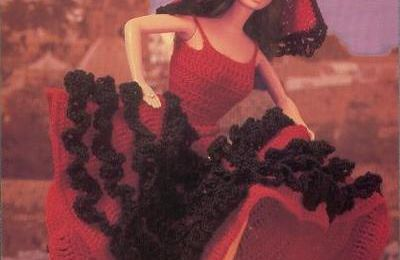 robe de barbie flamenco