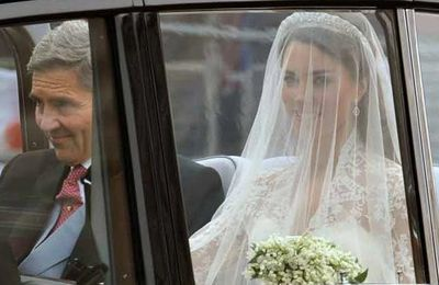 Images du mariage du Prince William et de la Princesse Catherine !