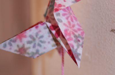 Origami et papier fleuri : scrap mania